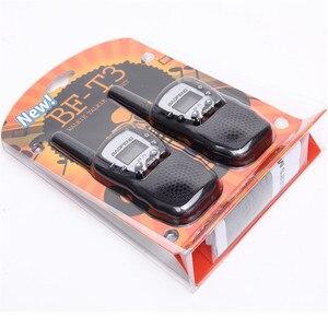 Image 5 - BF T3 для переносного приемо передатчика комплект из 2 частей Baofeng T388 PMR GMRS мини ручной для переносного приемо передатчика детей Беспроводной радио гражданского дорожная сумка