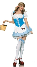 FREE SHIPPING ZY8112 dorothy costume fancy dress costume