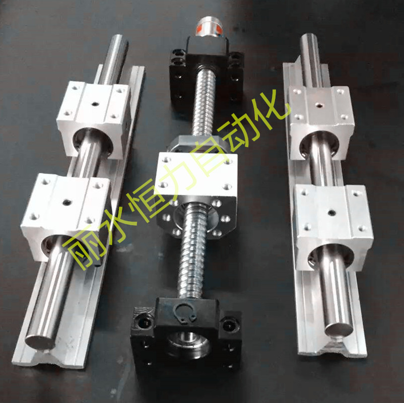 3 LINEAR RAIL SBR20-300/600/1000mm sets +3 ball screws RM1605-350/650/1050+3BK/BF12 +3 nut housing +3 RB couplers for CNC 3 linear rail sbr sets ballscrew ball screws sets bk bf12 couplers for cnc