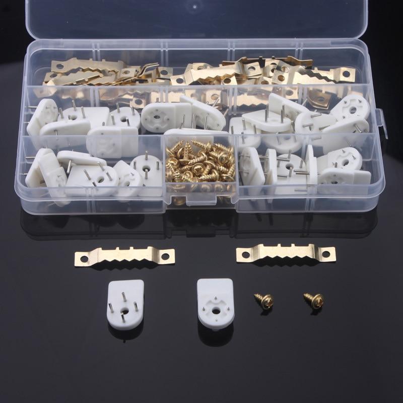 Висячая рамка для зуба, 1 комплект, подвеска с крючком, часы, фоторамка, подвеска, бесшовные иглы для домашнего декора ногтей Крючки и направляющие      АлиЭкспресс