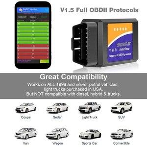 Image 2 - Universele OBD2 WIFI ELM327 V 1.5 Scanner voor Android/IOS Auto OBDII Scan Tool OBD 2 ODB II ELM327 v1.5 WIFI ODB2 Auto Diagnostische