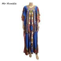 Mr Hunkle 2017 Bohe Vintage Dashiki Dress Diamond Half Sleeve African Clothing African Print Dresses For