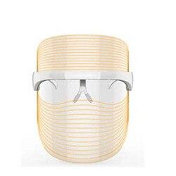 3 cores LEVOU a Terapia de Luz Máscara Facial Anti Acne Anti Rugas Facial SPA Instrumento Dispositivo de Tratamento de Beleza Rosto Cuidados Com A Pele ferramentas