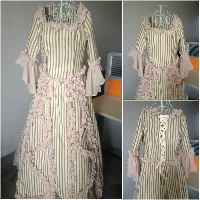 Hot Sale Customer to order! Vintage Costumes Victorian Dress 1860S ...