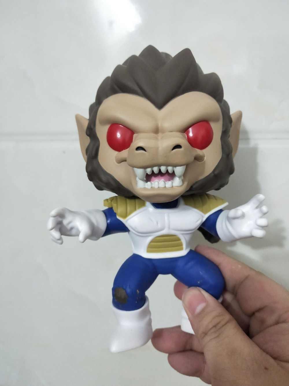 Funko pop dragon ball z greta ape vegeta figura de ação collectible modelo brinquedos para chlidren presente aniversário