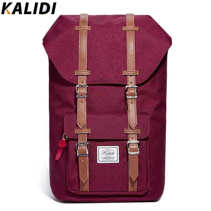 KALIDI New Fashion Backpacks Men Laptop Bag for Macbook Korea Style Rucksack Men/Women Travel School Couple Backpack kalidi 2pcs set backpack