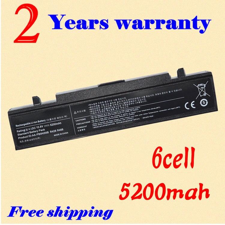 JIGU <font><b>4400mAh</b></font> New 6 CELL laptop <font><b>battery</b></font> AA-PL2NC9B AA-PL2NC9W AA-PL9NC6B AA-PL9NC6W AA-PL9NC2B For Samsung R468