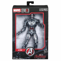 Marvel Legends 10th Anniversary Ultron 6 Action Figure Studios First Ten Years Movie Cinematic Universe Avengers 2 Collectible