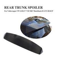 Carbon Fiber Rear Trunk Roof Spoiler for Volkswagen VW GOLF 7 VII MK7 GTI 2014 2017 Car Window Wing