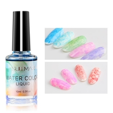Get more info on the 2019 Design Watercolor Ink Nail Polish Blooming Gel Smoke Effect Smudge Bubble DIY Design Varnish Manicure Decor Nail Art Salon