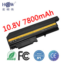 7800MAH new Replacement Laptop Battery For IBM ThinkPad R50 R50E R50P R51 R52 T40 T40P T41 T41P T42 T42P T43 T43P
