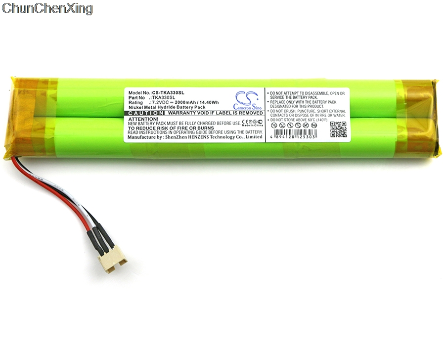 Cameron Sino 2000mAh Battery For TDK Life On Record A33