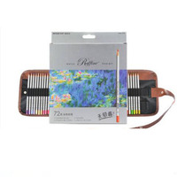 Free Shipping Professional Hand Painted Design Oily Colored Pencil Colour Tin Box Carton 24 48 72