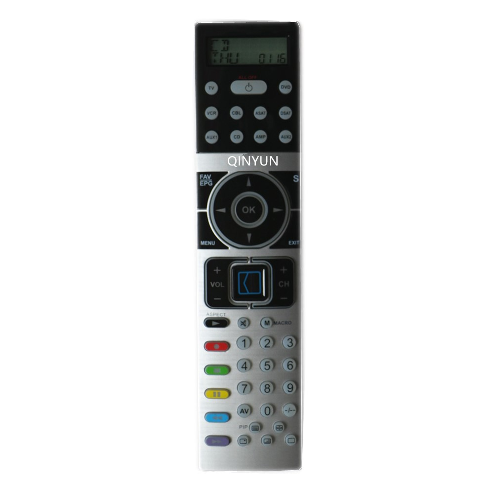 Universal Remote Control KH2157 USE For SILVERCREST With Back Light And LED TV/DVD/VCR/CBL/ASAT/DSAT/AUX1/CD/AMP/AUX2 kitivr39404unv75606 value kit innovera cd dvd envelopes with clear window ivr39404 and universal correction tape with two way dispenser unv75606