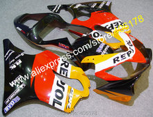 Heiße Verkäufe, spritzguss für Honda CBR600 F4i CBR 600F4i 2001-2003 CBR 600 F4i 01-03 HRC Repsol verkleidung (spritzguss)