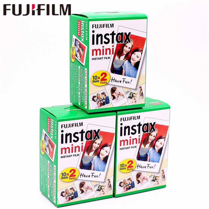 цена на Original Fuji Fujifilm Instax Mini 8 Film 60 pcs White Edge Photo Papers For 9 7s 8 90 25 55 Share SP-1 SP-2 Instant Camera