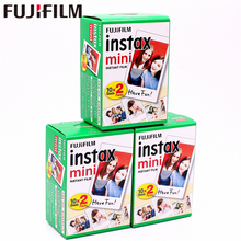Original Fuji Fujifilm Instax Mini 8 Film 60 pcs White Edge Photo Papers For 9 7s 90 25 55 Share SP-1 SP-2 Instant Camera