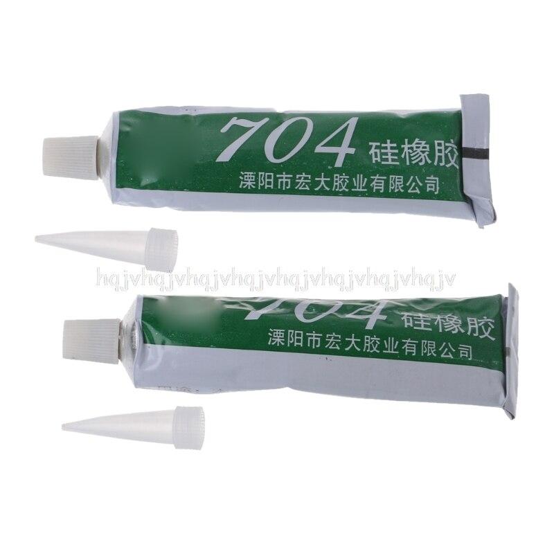 704 Fixo Cola de Vedação de Borracha de Silicone Resistente de Alta Temperatura À Prova D' Água Preta JUL06 dropship