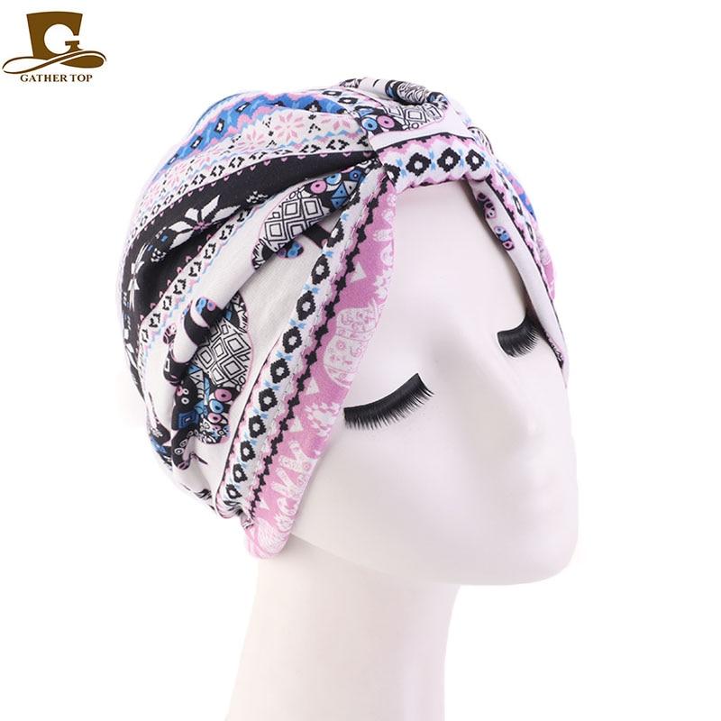 New fashion satin liner turban headwrap women chemo cap for hair loss Bandana Hijab Turbante Hat Hair Accessories in Women 39 s Hair Accessories from Apparel Accessories