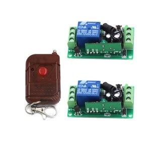 DC9V 12V 24V беспроводной переключатель системы дистанционного управления реле PT2262 передатчик с фиксированным кодом + переключатель света Прие...