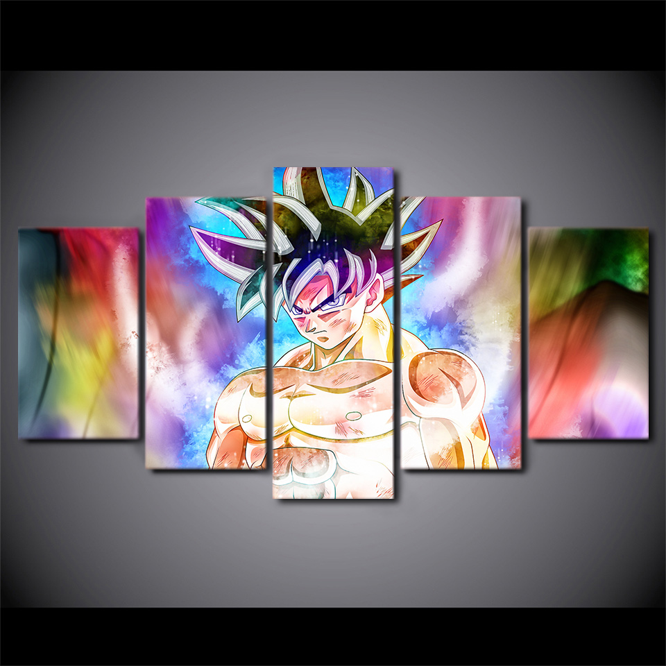 5-pe-a-canvas-art-HD-impress-o-de-dragon-ball-goku-pinturas-home-decor-parede (1)