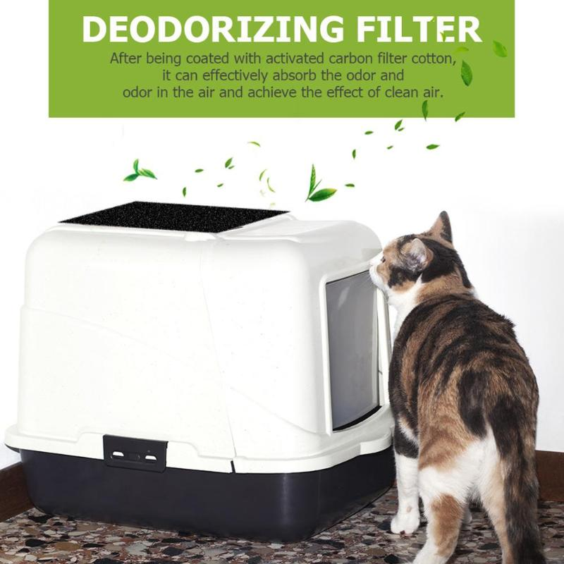 4 Piezas De Filtro De Carbón Activado Hogar Cocina Desodorante Filtro Absorción De Humedad Electrodomésticos Piezas De Purificador De Aire