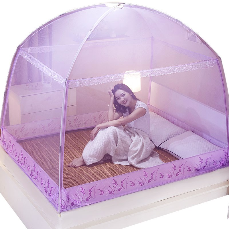 Romantic Purple Mosquito Net For Single Double Bed Adults Insect Repeller Tent Bedding Conpy Net For Kids Mesh Yurt Mosquito NetRomantic Purple Mosquito Net For Single Double Bed Adults Insect Repeller Tent Bedding Conpy Net For Kids Mesh Yurt Mosquito Net