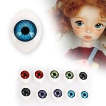 Овальные глазные шары кукольные глазные шары подвесные украшения стимулируют творческие Творческие цвета реалистичные