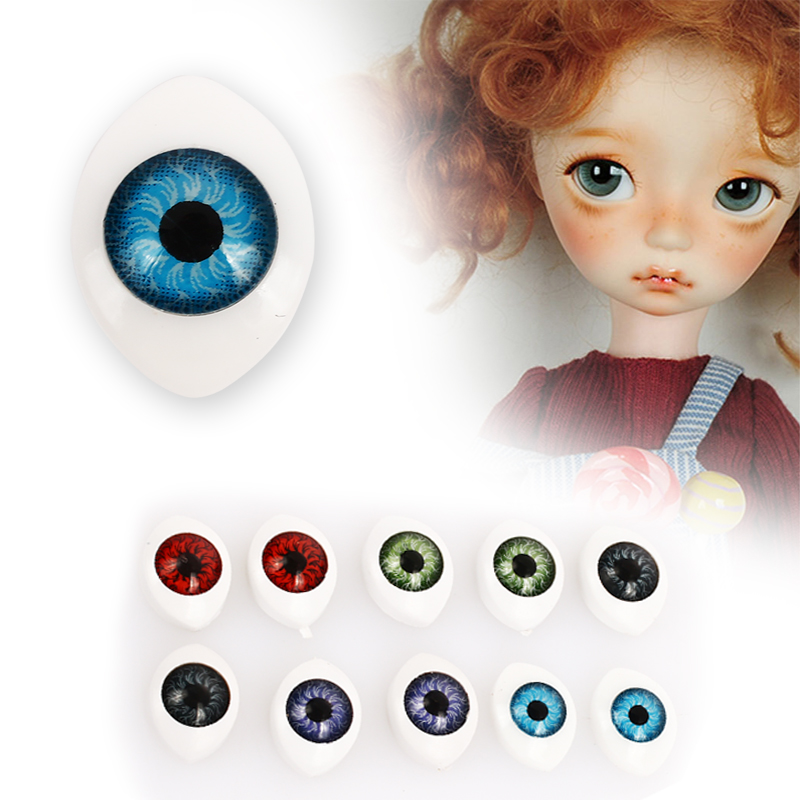 Oval Oval Eye Balls Doll Eye Balls Pendant Decoration Stimulates Creativity Creative Colours Realistic