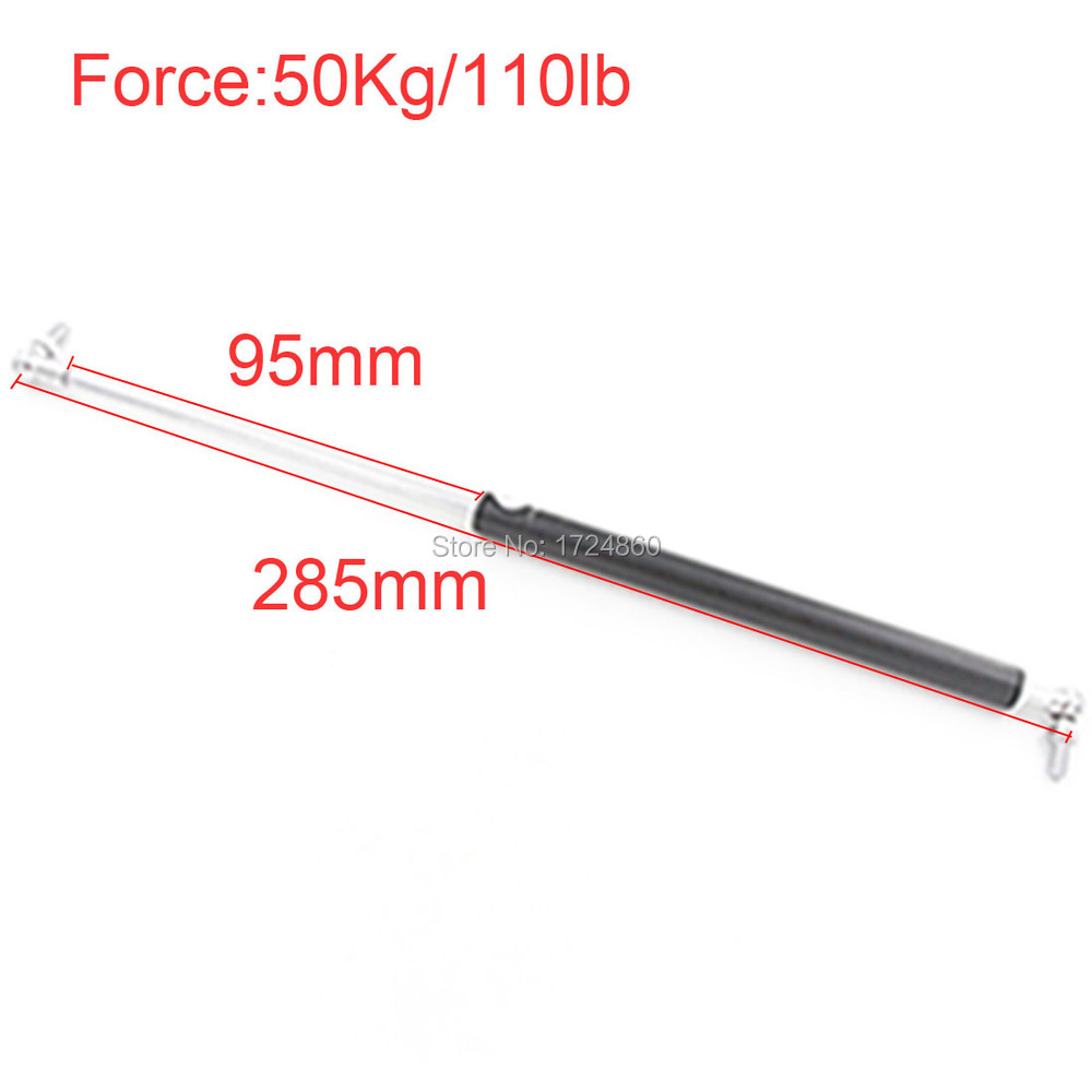 50KG/110lbs Force 95mm Stroke Gas Spring Damper for Furniture Car 95mm*285mm Gas Spring Gas Strut Door 285mm Central Distance50KG/110lbs Force 95mm Stroke Gas Spring Damper for Furniture Car 95mm*285mm Gas Spring Gas Strut Door 285mm Central Distance