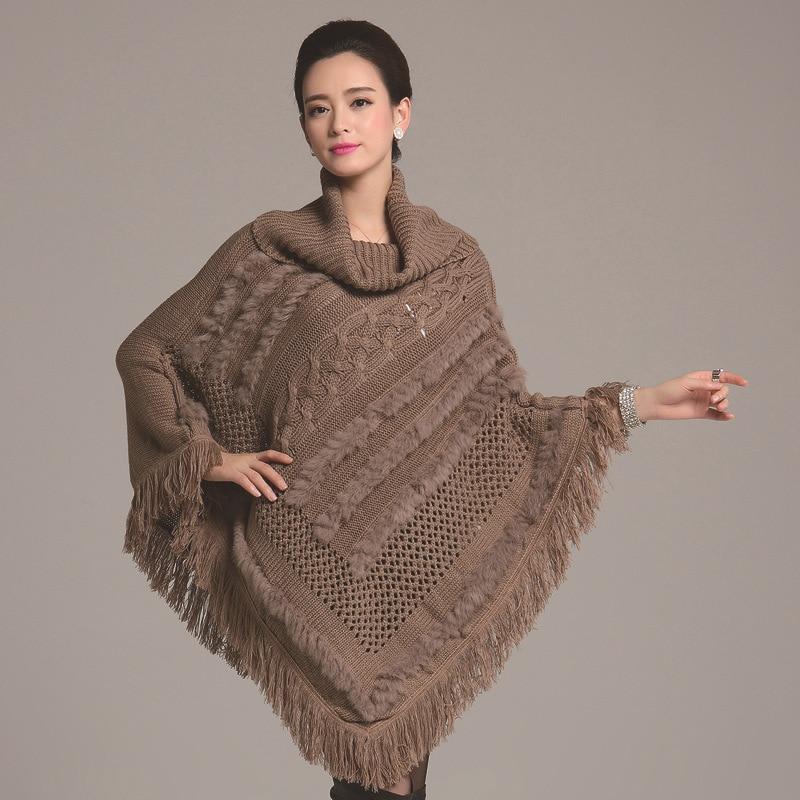 0f926a37a45 Cape tricot femme - Laine et tricot