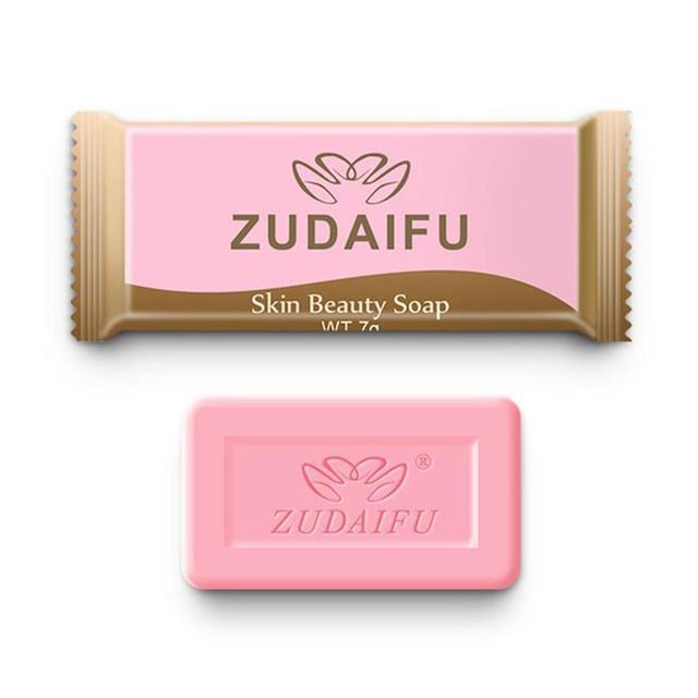 5pcs Zudaifu Sulfur Soap Trial Pack Skin Antibacterial Treatment Acne Psoriasis Seborrhea Eczema Anti Fungus Bath Beauty Soap 4