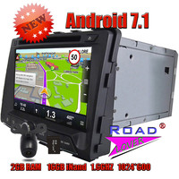 TOPNAVI 2G 16GB Quad Core Android 7 1 Car PC Media Center DVD Player For Ssangyong
