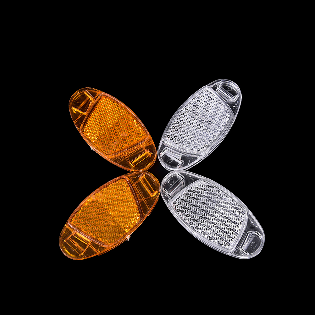 1 Pair Reflector Warning Light Bicycle Wheel Rim Reflective Bicycle Spoke MTB Road Cycling Spoke Lights Bike Bicycle Accessories