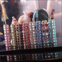 10 ml Cam Sprey Şişeleri, Mini Küçük Boş Mist Parfüm Şişeler, El Yapımı Elmas Parfüm Atomizer, DIY Örnek konteyner