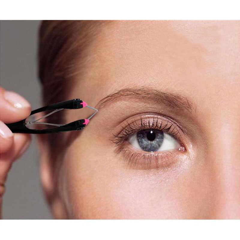 Пинцет для бровей автоматический зажим для бровей ресницы расширение Двойной век стикер Глаза челюсти инструмент для удаления волос Pinza de cejas