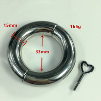 Metal Cock Rings Penis Cage Stainless Steel Ball Scrotum Stretcher Delay Ejaculation In Adult Games Fetish Sex Toys For Men