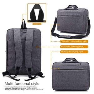 Image 3 - Large Laptop Bag For Macbook Air Pro 17.3,15.6 inch Laptop Backpack Men Travel Luggage Bag Briefcase Shoulder Messenger Bags