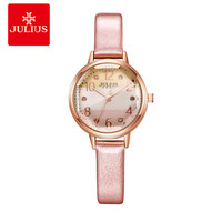 JULIUS Logo Top Brand Fashion Ladies Rose Gold Watches Style Rhinestone Watches Women Prices Cheap Watches China Dropship D1