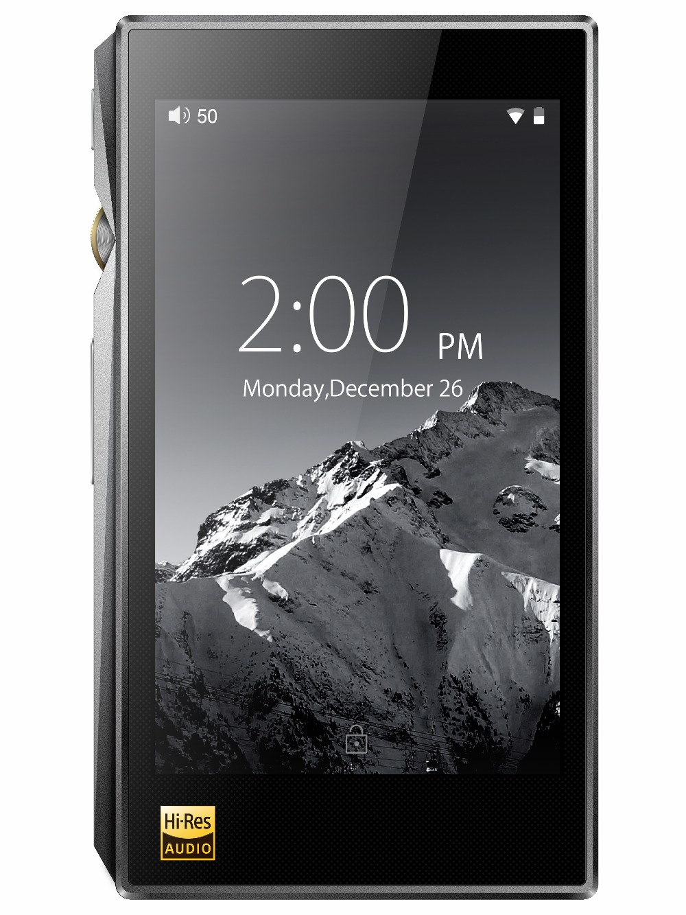 FiiO X5III Android-based WIFI Bluetooth APTX Double AK4490 Lossless DSD Portable Music Player with 32G mariposa en plata anillo