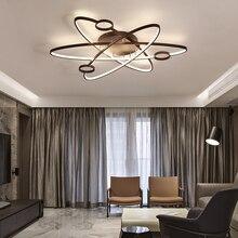 New art deco Modern LED Chandelier Lighting For Living room Bedroom Dining room AC85-265V chandelier led lamp light fixtures цены онлайн