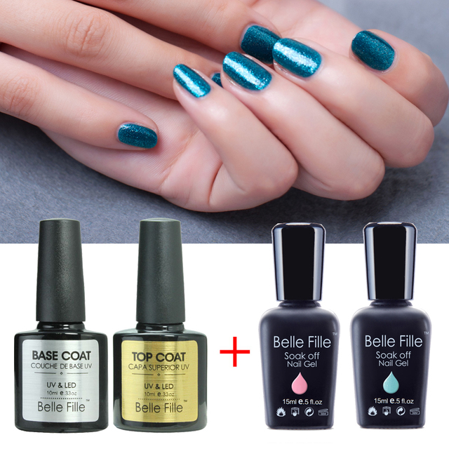1PCS Soak Off Nail Polish Gel UV Glue  Vogue Nails Color Tale For 237 Pure Color Nailpolish And Gelpolish