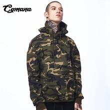 CGmana Camouflage Hoodies Men Thickening Military Hoodie High Street Pullover Fashion HipHop Streetwear Casual Hoodie Sweatshirt