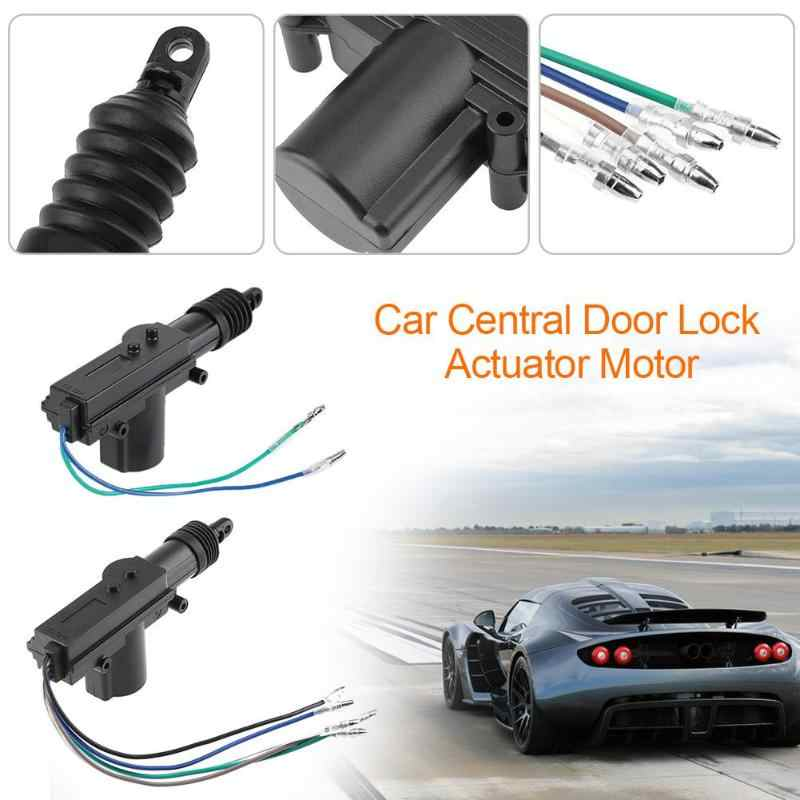 Vodool 12v 2 5 Wire Cable Car Auto Center Control Locking System Single Gun Type Central Door Lock Actuator Motor Accessories Aliexpress