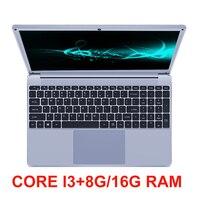 Core i3 15,6 дюймов ноутбук с памятью 8G/16G Оперативная память 256 г/512 г/1 ТБ SSD игровой компьютер лэптоп ОС Windows 10 Тетрадь с ультрабук с подсветкой