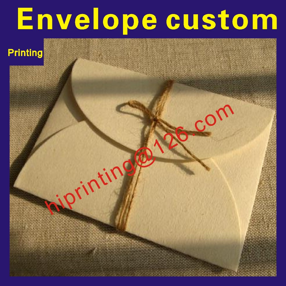 2018 Wholesale Business Office Stationery Used Custom Printable <font><b>Paper</b></font> Envelopes image