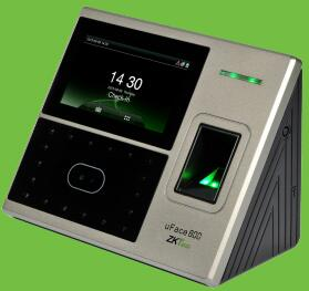 ID card+fingerprint+face recognition time attendance ZKTECO uface800 time recorder facial recognition photo catalog face recognition