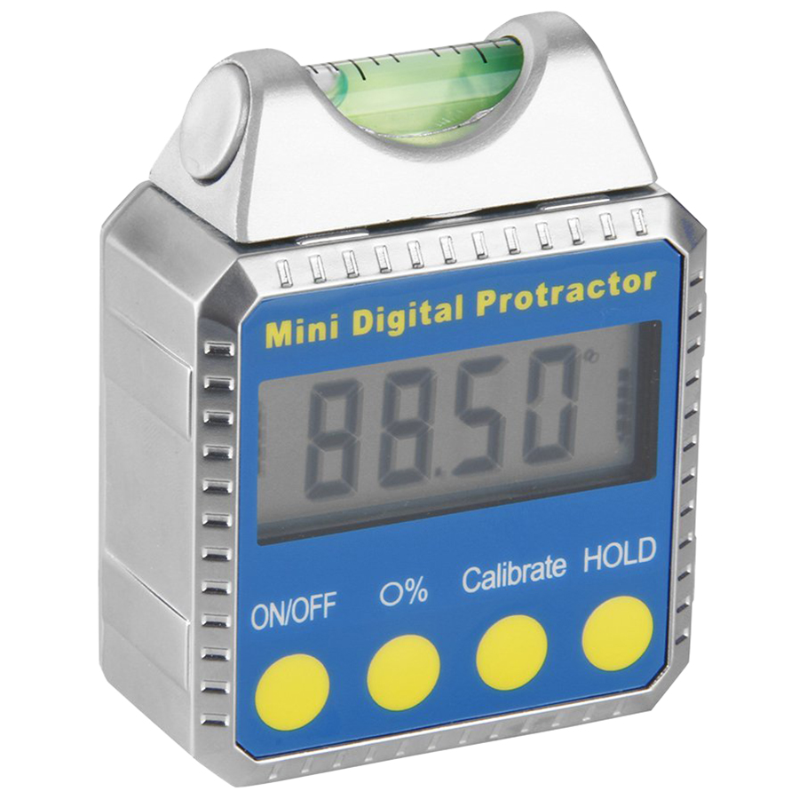 New Style High Quality Digital Angle Gauge Mini Protractor horizontal Bevel Box LCD Display <font><b>Clinometer</b></font> with Spirit Level + Ins