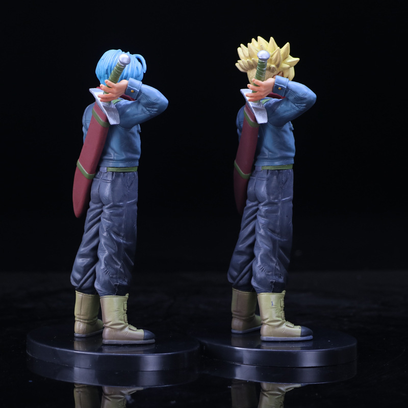 new Dragon Ball Z Super Saiyan Goku Son Gokou Broli Prince Vegeta Manga Trunks PVC Action Figure Model Collection Toy Gift (4)