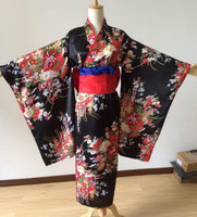 Japanese kimono traditional girl Geisha girl cosplay Hell girl Cherry suits